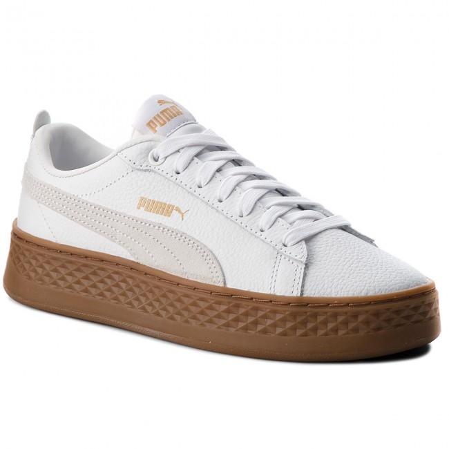 02 366487 White Smash Sneakers Puma Whitepuma Platform L qIz0ZxzX