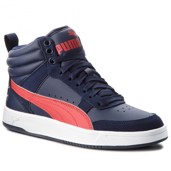 Sneakers PUMA - Rebound Street V2 Jr 363916 08 Peacoat Rbbn Red ... 52262277bbc