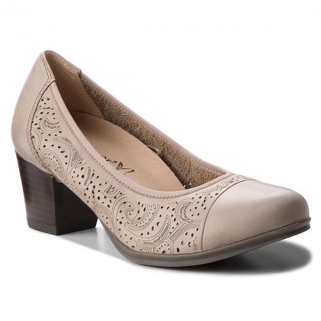 Scarpe basse CAPRICE - 9-22504-20 Taupe Nappa 342 - Con tacco - Scarpe basse - Donna | Moderno Ed Elegante Nella Moda  | Gentiluomo/Signora Scarpa