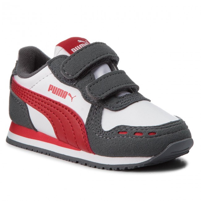 new styles ddc35 73921 Sneakers PUMA - Cabana Racer Sl V Inf 351980 63 P.White Iron Gate ...