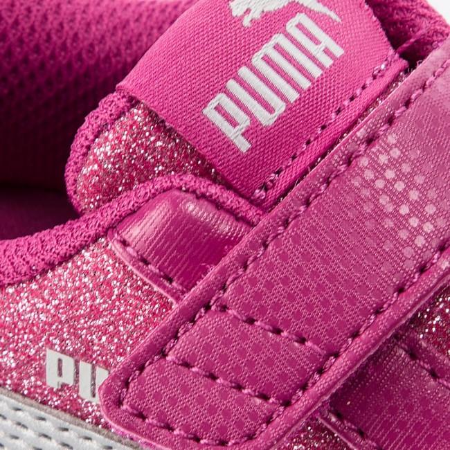 ee121b5e635 Sneakers PUMA - Smash V2 Glitz Glam V Inf 367380 03 Magenta Haze Puma Silver