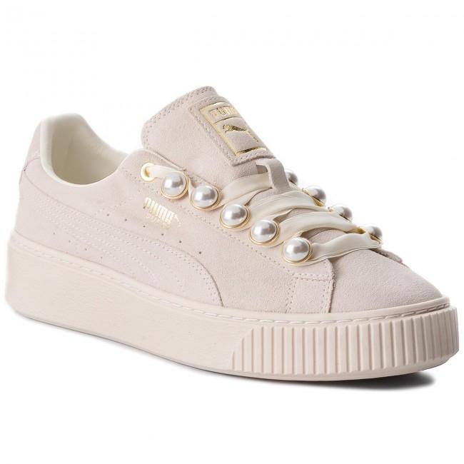 scarpe da ginnastica PUMA - Suede Platform Bling Wn's 366688 02 Whisper bianca Whisper bianca - scarpe da ginnastica - Scarpe basse - Donna   Vari disegni attuali    Maschio/Ragazze Scarpa