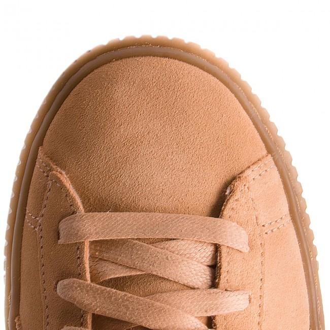 Sneakers PUMA Suede Platform Animal 365109 Dusty CoralPuma Silver