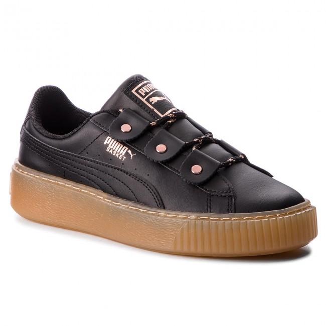 Sneakers PUMA Basket Platform Loops Jr 366837 366837 366837 01 Puma Black/Rose ... f6a0fa