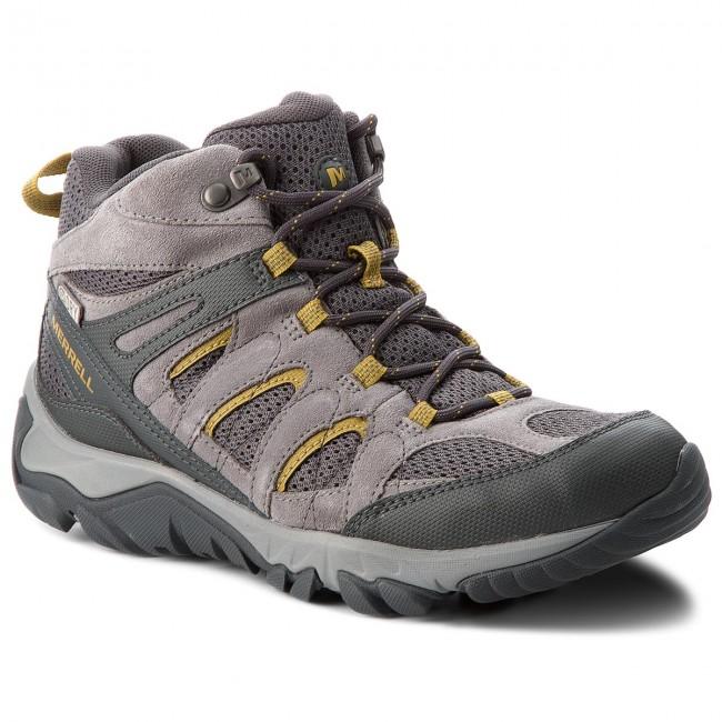 Scarpe da trekking MERRELL - Outmost Mid Vent Wtpf J09509 Frost Grey ... 70418a3829d