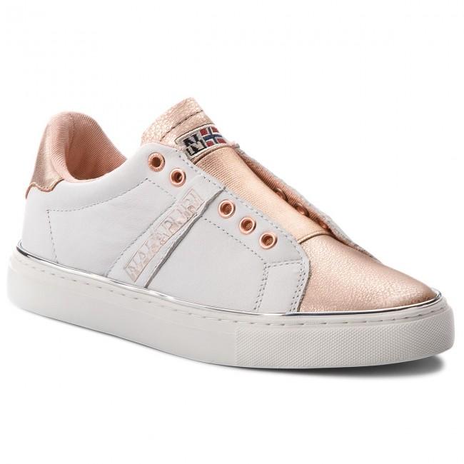 scarpe da ginnastica NAPAPIJRI - Alicia 16771592 bianca rosa oro N06 - scarpe da ginnastica - Scarpe basse - Donna | Vari disegni attuali  | Uomini/Donna Scarpa
