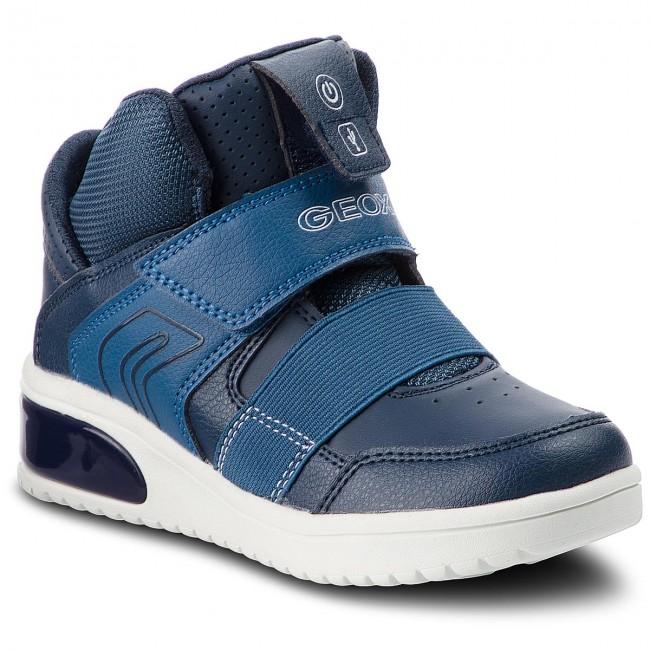 Sneakers GEOX - J Xled B. A J847QA 05411 C4002 S Navy - Polacchi ... ead03e24bbe