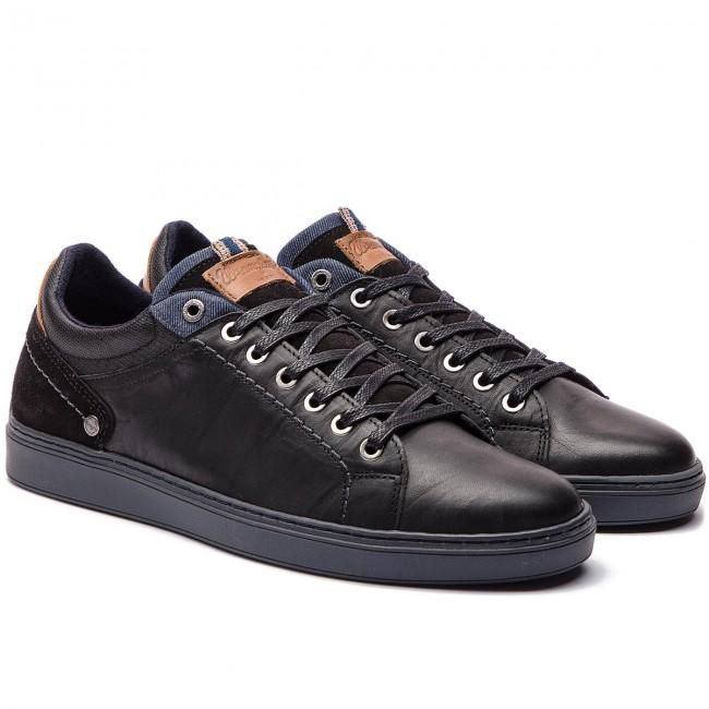 29b72c8abad03 Owen Pzdgwz Scarpe 62 Black Wm172161 Wrangler Derby Sneakers 1WAqZxx5v