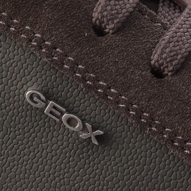 Sneakers GEOX - U Ariam D U845QD 043V2 C6ML6 Coffee Mud - Sneakers ... edb67ef8a27