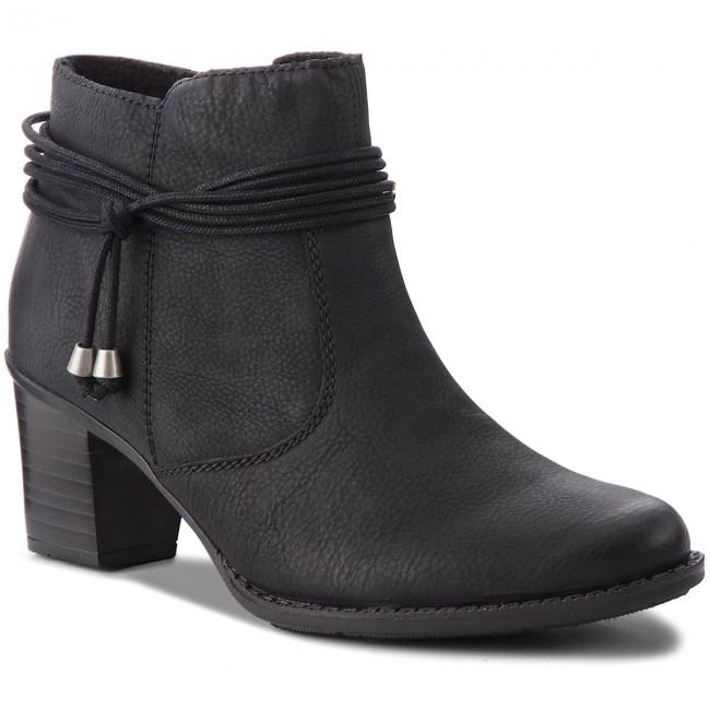 Tronchetti RIEKER - L7669-00 nero - Tronchetti - Stivali e altri - Donna   Primo gruppo di clienti    Sig/Sig Ra Scarpa