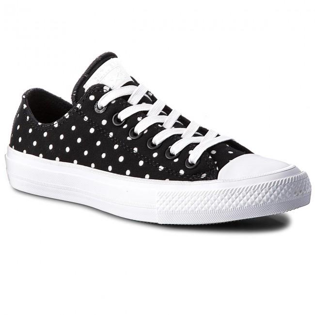Scarpe da ginnastica CONVERSE - Ctas II Ox 555803C nero bianca bianca - Scarpe da ginnastica - Scarpe basse - Donna | scarseggia  | Uomini/Donna Scarpa