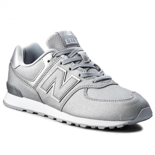 scarpe da ginnastica NEW BALANCE - GC574KS argentoo - scarpe da ginnastica - Scarpe basse - Donna | Di Modo Attraente  | Uomo/Donna Scarpa