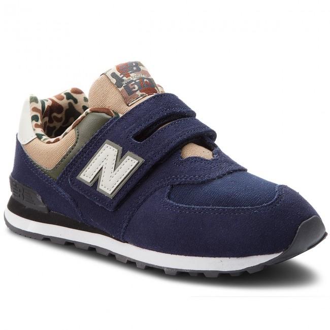 Sneakers NEW BALANCE - YV574HN Blu scuro - Con strappi - Scarpe ... ee21dd3cca2