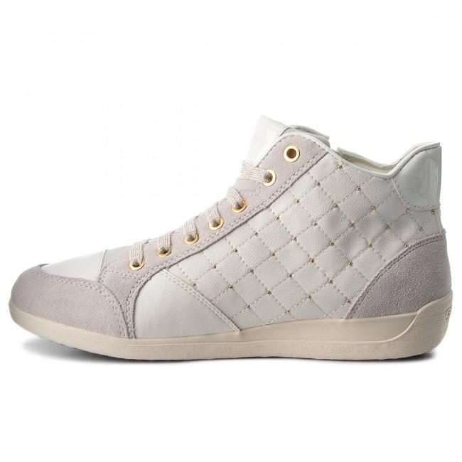 Sneakers GEOX D Myria C D6468C 0BC22 C1209 Off WhiteWhite