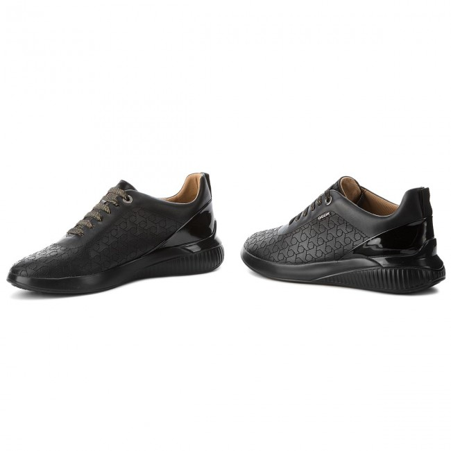 Sneakers 0BCHI GEOX D828SC Sneakers C9999 C Theragon D Black rwgqBvxrHC
