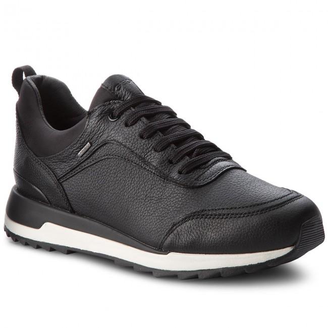 Sneakers GEOX - D Aneko B Abx A D843FA 046FU C9999 Black - Sneakers ... fe71add17c9