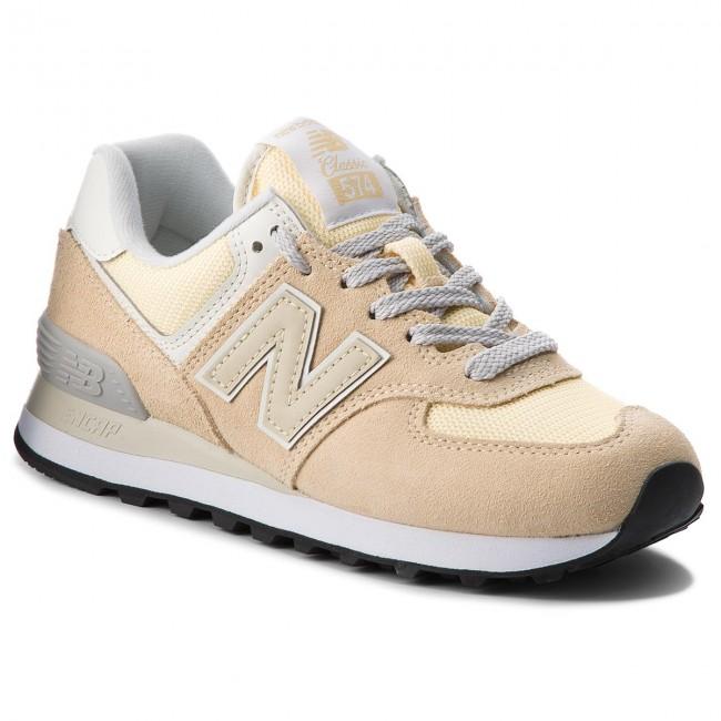 37514947b8b76 Sneakers NEW BALANCE - WL574CRA Giallo - Sneakers - Scarpe basse ...