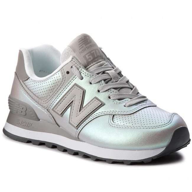 06578accee Sneakers NEW BALANCE - WL574KSC Argento - Sneakers - Scarpe basse ...