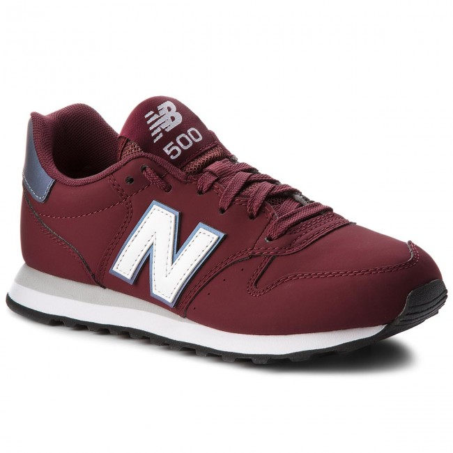 scarpe donna new balance bordo