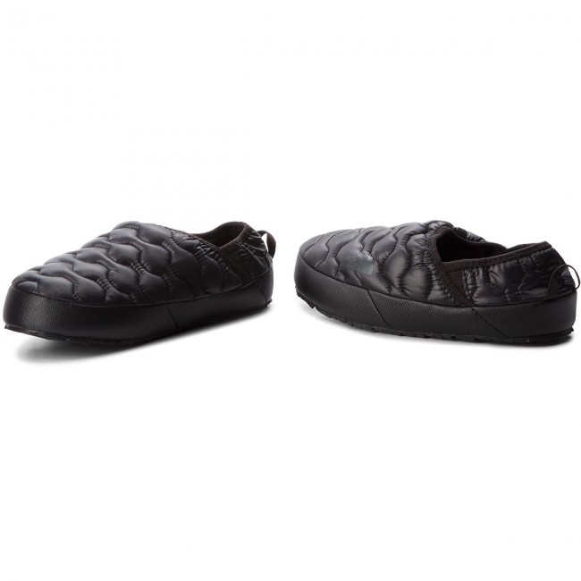 Pantofole THE NORTH FACE - Thermoball Traction Mule IV T993IFYWY Shiny Tnf  Black Beluga Grey 11934a5fcc49
