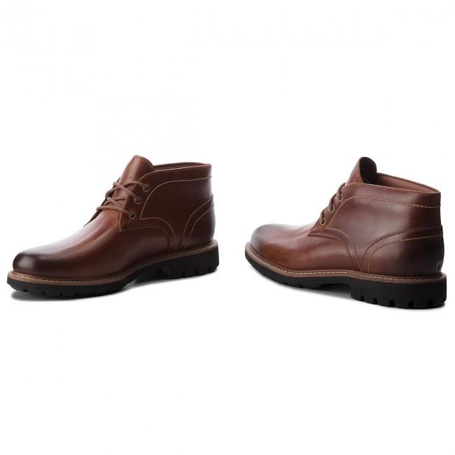 CLARKS Dark Leather 261274737 Batcombe Tan Polacchi Lo Polacchi vwxqZ7TUq