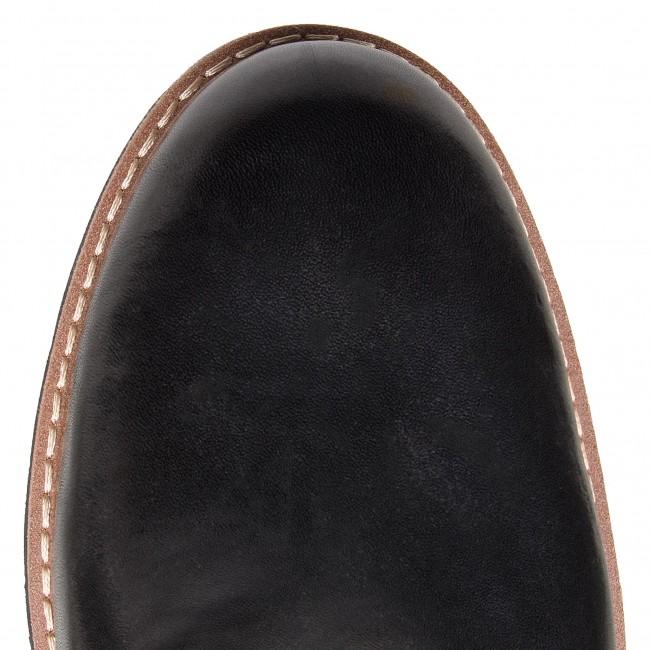 Scarpe basse CLARKS Batcombe Hall 261275497 Black Leather