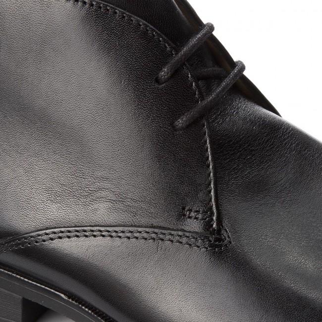 Leather 261276477 Mid Polacchi Polacchi CLARKS Black Gilman qngwwfxS