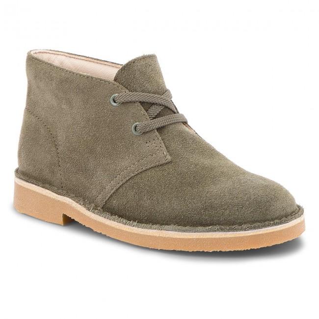 Polacchi CLARKS - Desert Boot 261350277 Olive Suede - Polacchi ... 69ada1acb4e