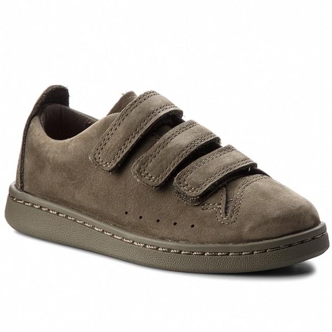 Sneakers CLARKS - Nate Maze 261358336 Olive Nubuck - Scarpe basse a ... 849a9e320e4