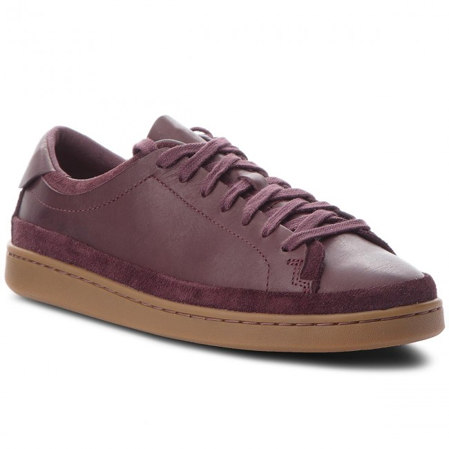 Aubergine Sneakers Craft 261371037 Clarks Nathan qIXI71
