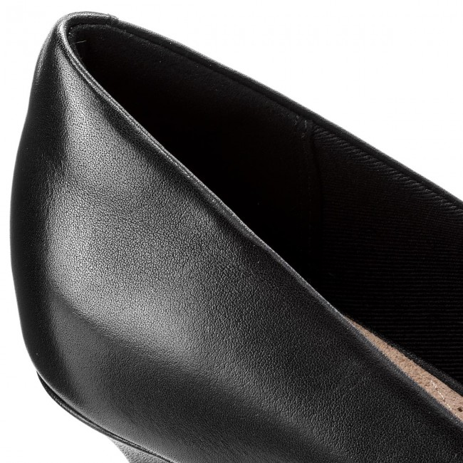 Scarpe basse CLARKS - - - Linvale Jerica 261372084  nero Leather - Con tacco - Scarpe basse - Donna | Ha una lunga reputazione  | Gentiluomo/Signora Scarpa  a8eb83