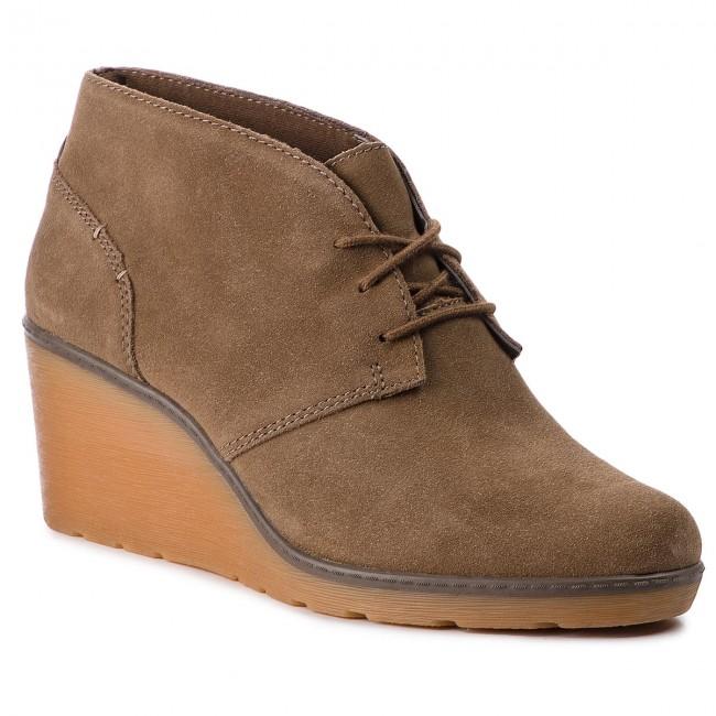 6977ecd93ae572 Tronchetti CLARKS - Hazen Charm 261372534 Olive - Tronchetti - Stivali e  altri - Donna - escarpe.it