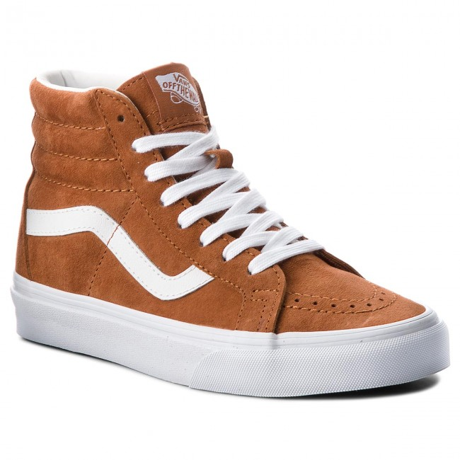 Sneakers VANS - Sk8-Hi Reissue VN0A2XSBU5K (Pig Suede) Leather Brown ... 7bc281ca7f0