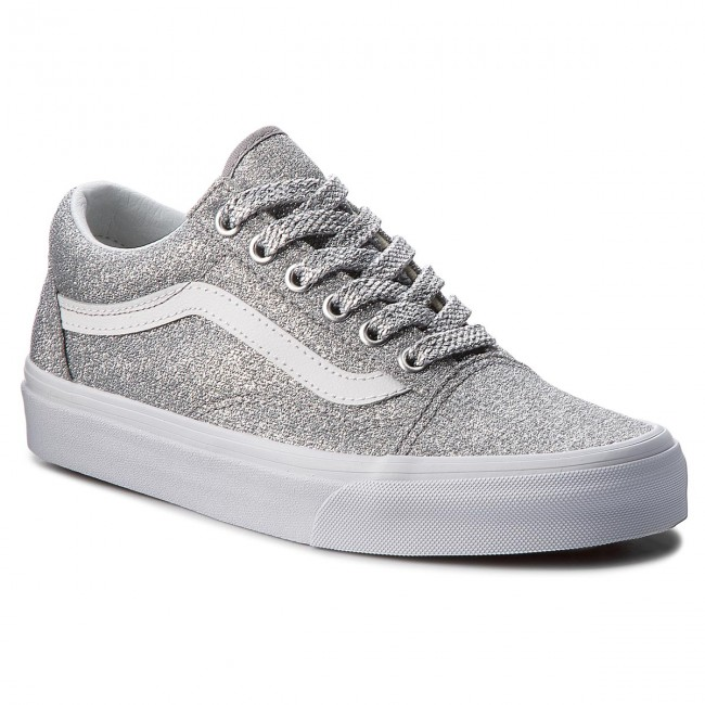Scarpe sportive VANS - Old Skool VN0A38G1UAW (Lurex Glitter) Silver ... b71bf85567f