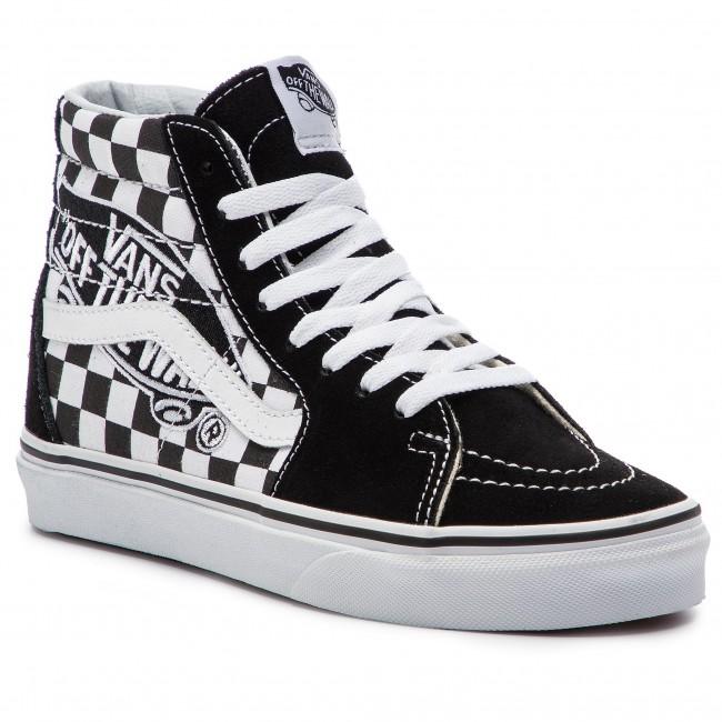 b447b1c4f1 Sneakers VANS - Sk8-Hi VN0A38GEUPV1 (Vans Patch) Black True W ...