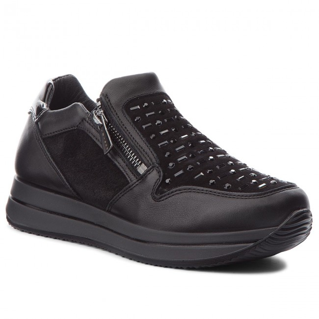 Sneakers IGI CO - 2144500 Nero - Sneakers - Scarpe basse - Donna ... a911d1c489b