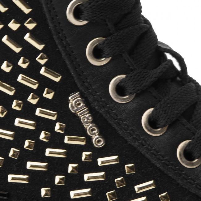 Donna Igi Nero Basse 2155800 amp;co Scarpe Sneakers 4jRLA5