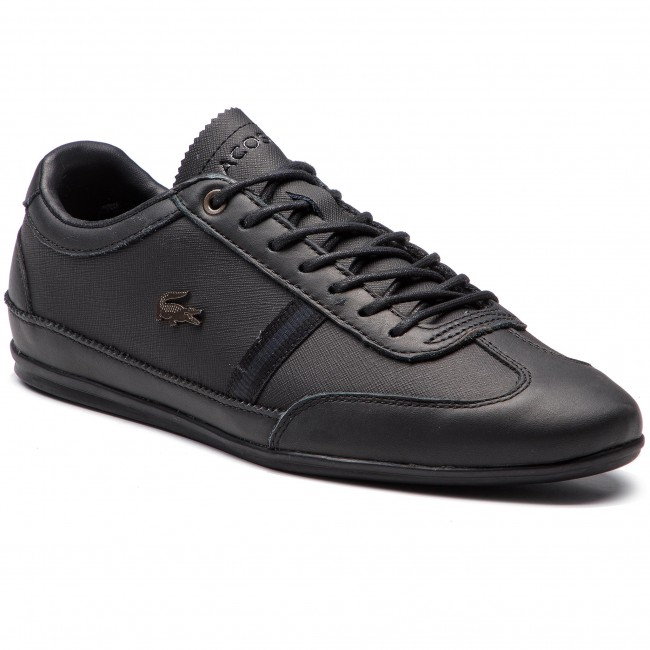 LACOSTE Cam 1 Misano 318 Sneakers 7 BlkBlk 36CAM005602H fwq4Ax6ap