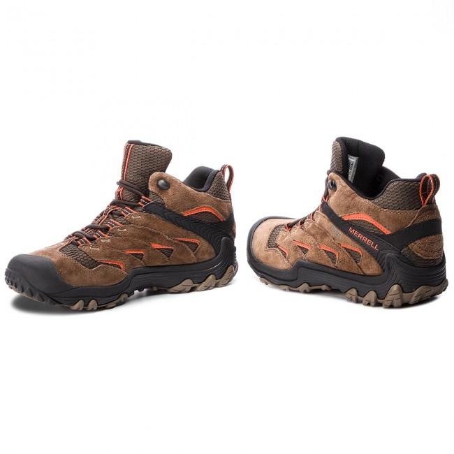 Scarpe da trekking MERRELL - Chameleon 7 Limit Mid Wp J12757 Merrell Stone 308ee5b1944