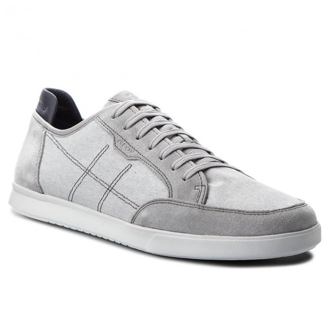 Sneakers GEOX - U Walee A U722CA 0NB22 C1010 Lt Grey - Sneakers ... 6968a0cc27a