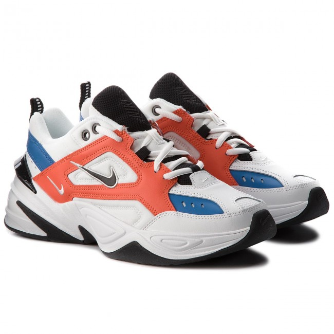 Scarpe NIKE - M2k Tekno AO3108 101 Summit White/Black/Team Orange