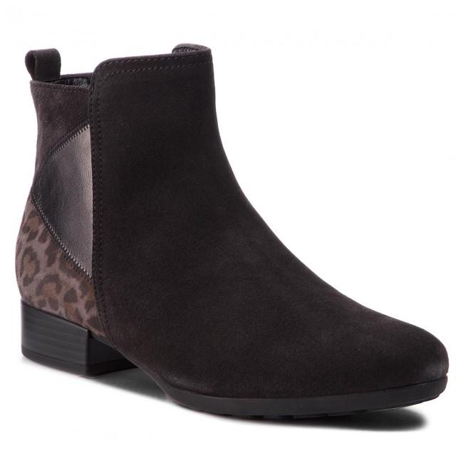 Tronchetti GABOR - 92.716.39 Dark grigio (Micro) - Tronchetti - Stivali e altri - Donna | Abile Fabbricazione  | Gentiluomo/Signora Scarpa