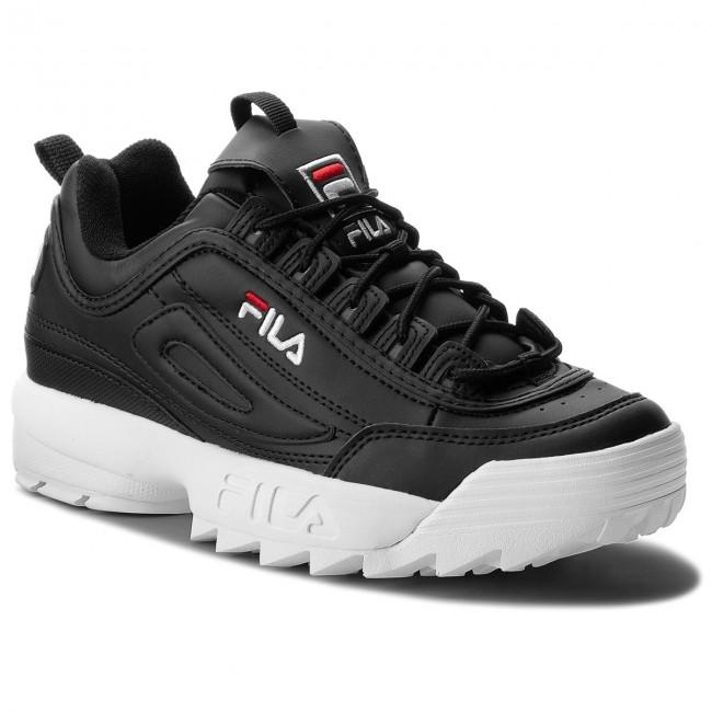 Sneakers FILA - Disruptor Low 1010262.25Y Black - Sneakers - Scarpe ... dec1d137844