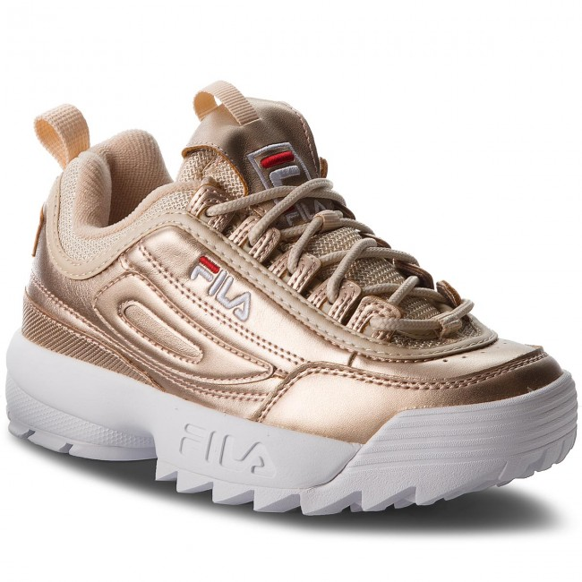 E7drgxwd Disruptor Gold Sneakers Mm Fila Wmn 1010442 Low 80c Tq8T6nSvW