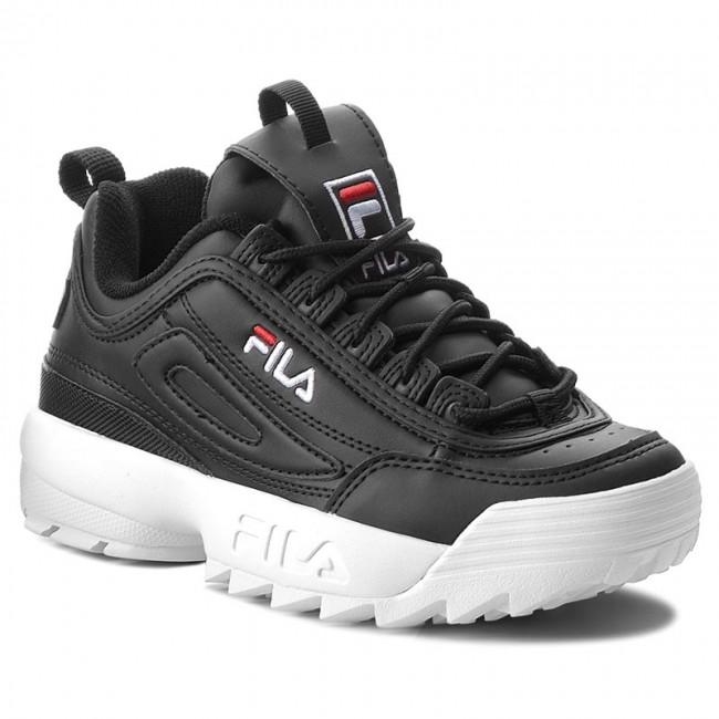 523527162cfd8 Sneakers FILA - Disruptor Low Wmn 1010302.25Y Black - Sneakers ...