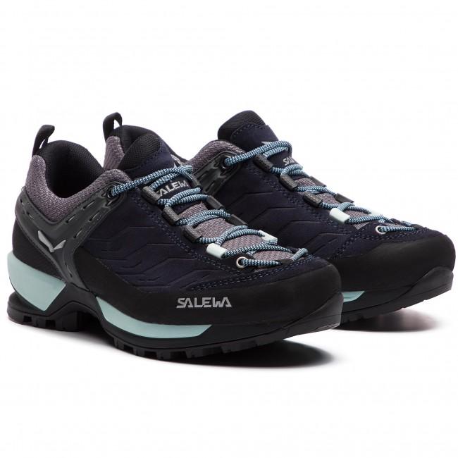 Scarpe da trekking SALEWA - Mtn Trainer 63471-3981 Premium Navy Subtle Green  - Scarpe da trekking e scarponcini - Scarpe basse - Donna - www.escarpe.it c491520e8ab