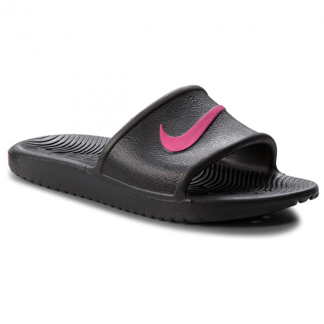 966e81e8076e Ciabatte NIKE - Kawa Shower (GS) AQ0899 002 Black/Rush Pink ...