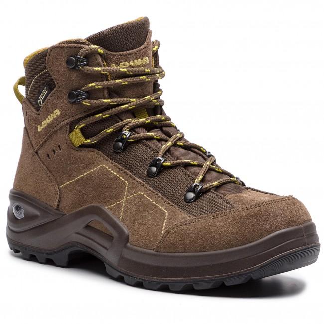 Scarpe da trekking LOWA - Kody III Gtx Mid Junior GORE-TEX 350099 Marronee Mustard 4584 - Scarpe da trekking e scarponcini - Stivali e altri - Donna | riparazione  | Maschio/Ragazze Scarpa