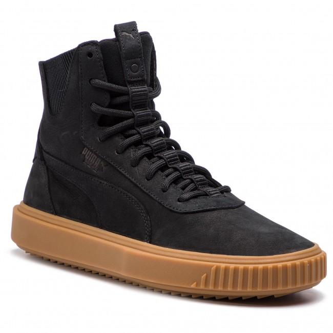 9ccd74a766455 Sneakers PUMA - Breaker Hi Gum 367715 01 Puma Black Puma Black ...