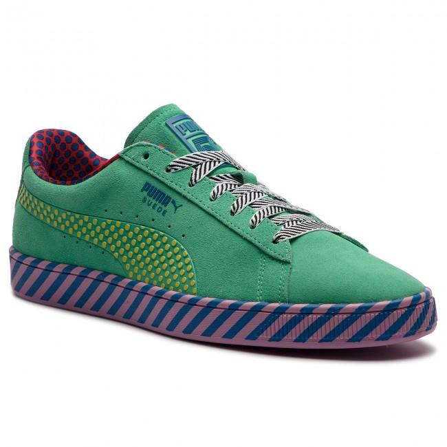 Suede 367776 Pop Puma Biscay 01 Classic Culture Green Sneakers 5POvqwv